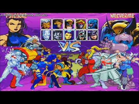 Fightcade – Xmen Children Of Atom – JLW2490(USA) Vs Bignasty_3620(USA)