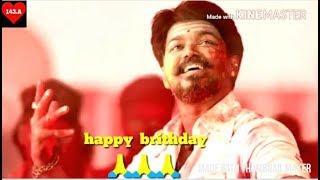 Thalapathy vijay birthday special status 🎂🎂🎂🎂 happy birthday vijay sir