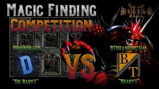 Diablo 2 - 3x3x3 MF Competition with BTNeanderthal !!! 01/17/2019