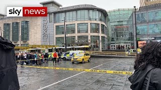 Terror arrest after knife attack in Manchester