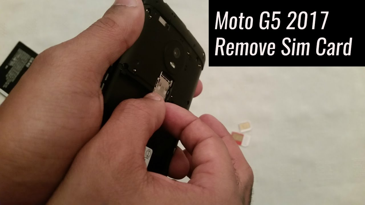 Moto G5 Sd Karte.Moto G5 2017 How To Remove Sim Card Micro Sd Card