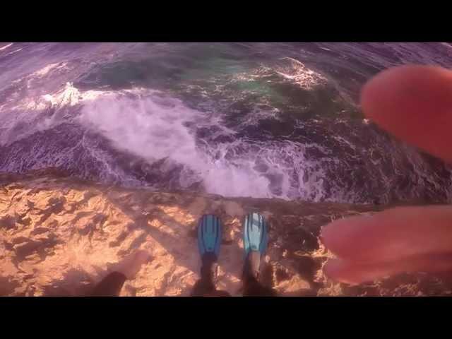Lionfish Hunting Boca Mahos Aruba- Extreme Scuba Diving-Amazing Cliff Dive with Scuba Tanks