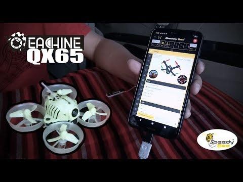 Eachine QX65 Micro OSD FPV Whoop Unboxing, Bind Frsky X9D Plus, Setting, Flight Test 🇲🇨