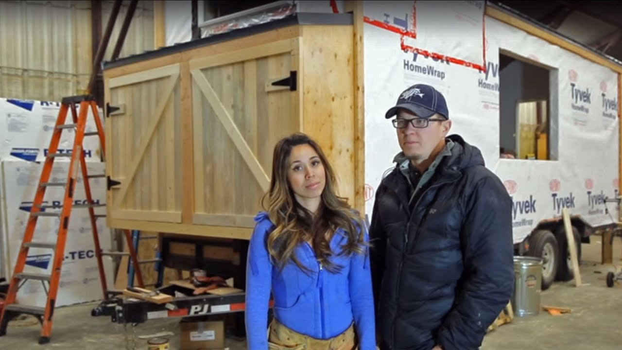 Exterior Storage Shed: Ana White Tiny House Build [Episode 5]