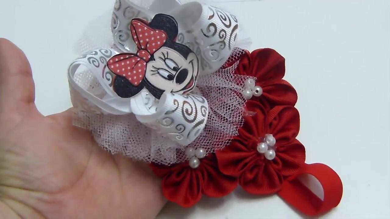 Diadema para bebe como hacer mo os para ni a ribbon for Hacer diademas nina