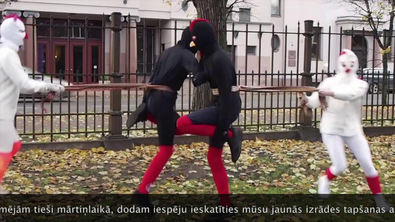 1. kārdināšana – Melngaiļi un baltvistiņas (Rīgas danči)