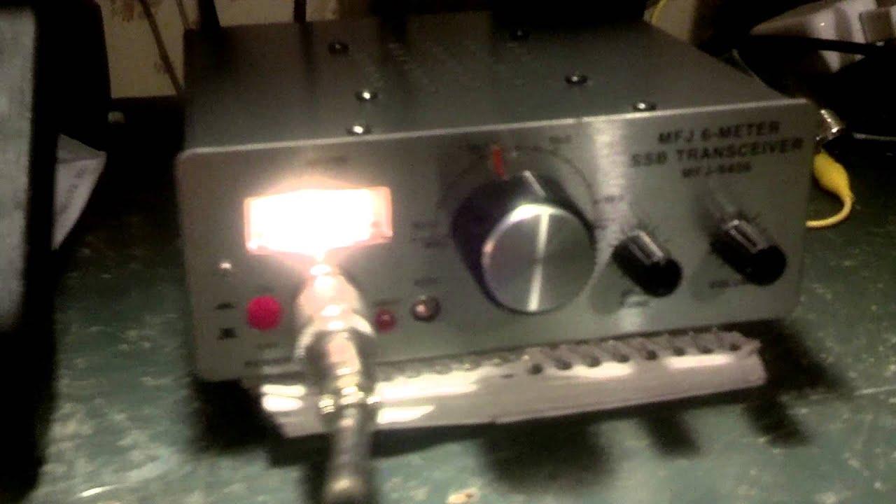 Mfj-9406 ssb radio 6 meter