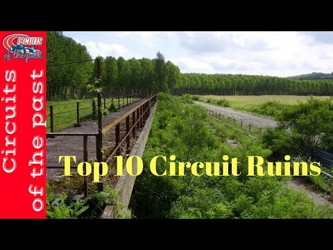Top 10 Circuit Ruins in Europe | Circuits of the past #urbex