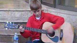 Justin Bieber singing before he was famous