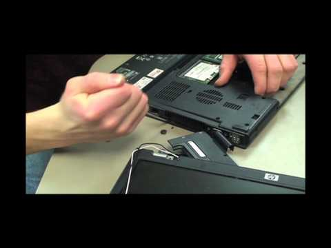 Wildlands School - How to take apart an HP nx6110 laptop for repair or parts.