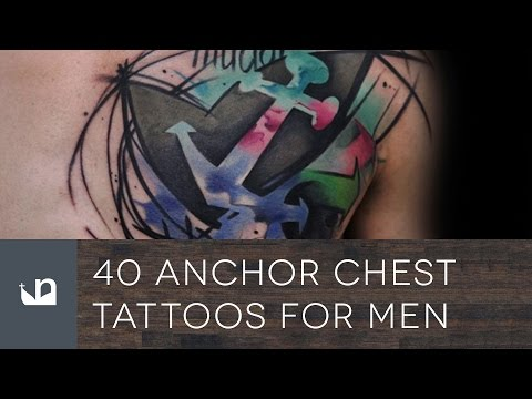 40 Anchor Chest Tattoos For Men