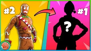 TOP 10 SKINS IN FORTNITE!! NO ONE EXPECTS THIS!! -Fortnite: Battle Royale
