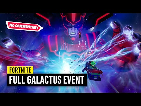 Fortnite Galactus Event on PS5 | No Commentary (Chapter 2 Season 4 Live Event)