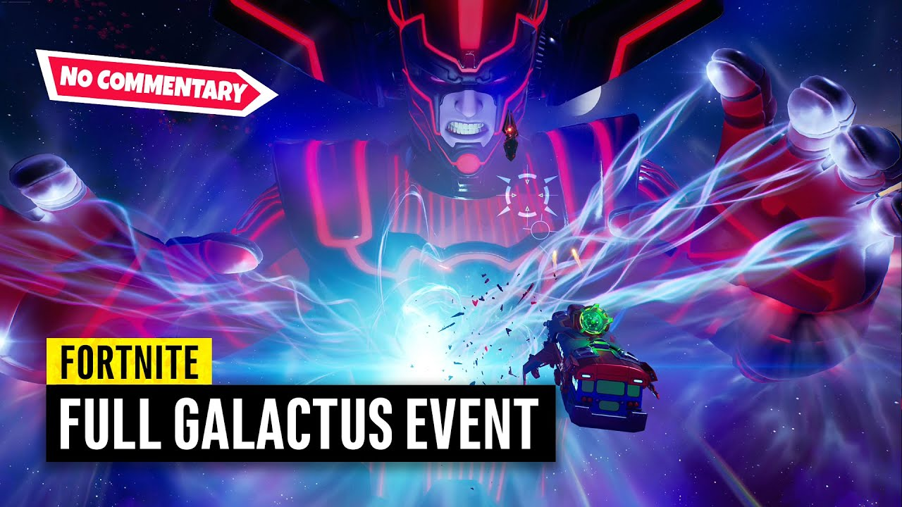 Download Fortnite Galactus Event on PS5 | No Commentary (Chapter 2 Season 4 Live Event)