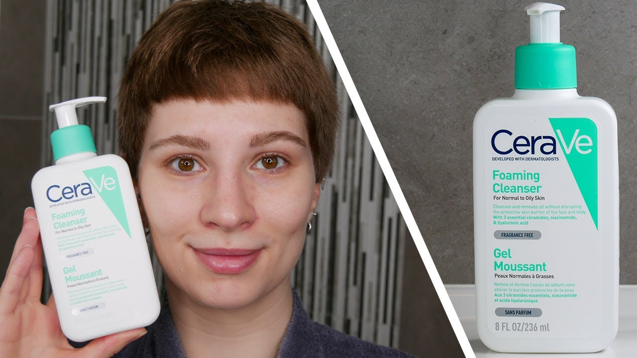 How To Use The CeraVe Foaming Cleanser