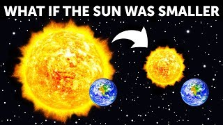 What If the Sun Was Twice Smaller