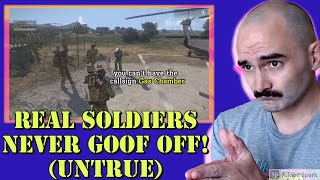 Army Combat Veteran Reacts to SovietWomble's Arma 3