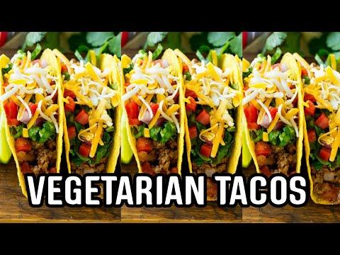 VEGETARIAN TACOS 🌮🌮 | TACOS RECIPE | How to make PERFECT MEXICAN TACOS | EASY VEGETARIAN TACOS 🌮🌮