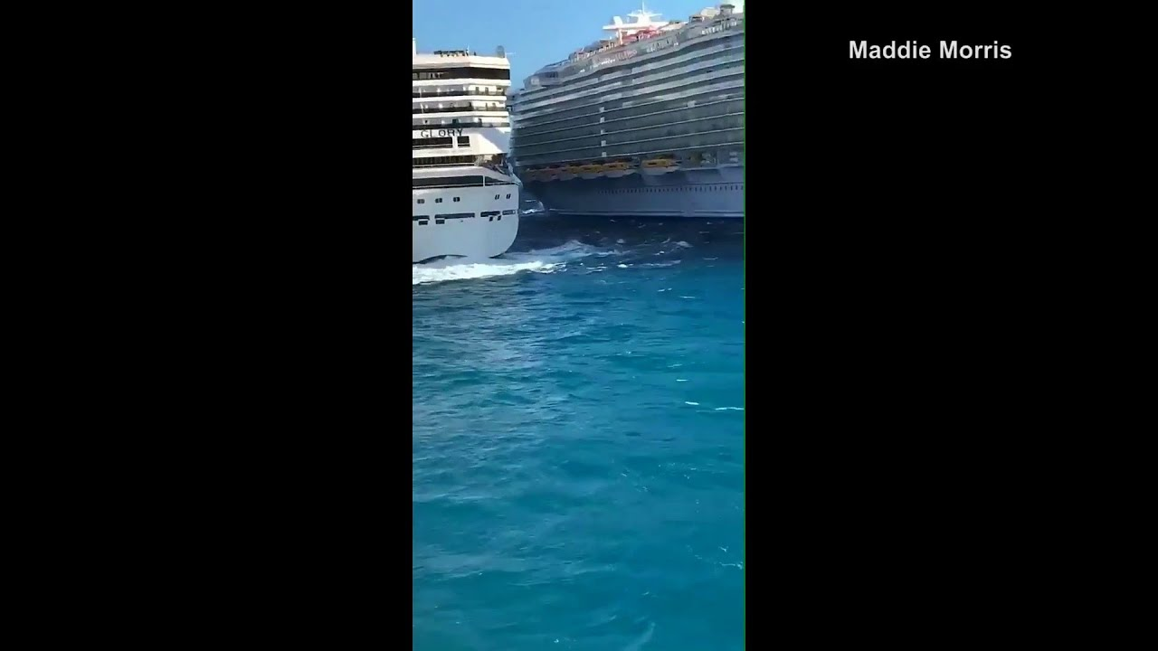 2 Carnival Cruise ships collide in Cozumel, Mexico; at least 6 ...