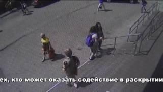 Сотрудники полиции устанавливают личность молодого человека подозреваемого в покушении на грабеж