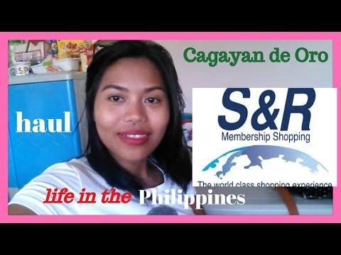 Life in the Philippines : S & R Membership Shopping Haul, CDO -| Helmz Jordan