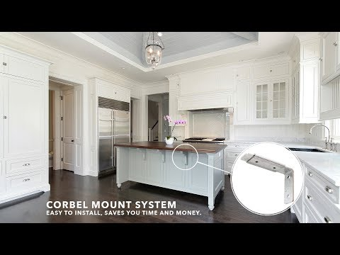 HOW-TO Install the Corbel Mount System. Easy to Install, SAVES TIME & MONEY