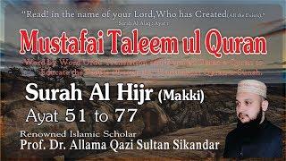 Gambar cover Surah Al Hijr Ayat 51 to 77