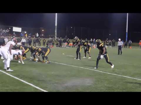 Brightwell run Spalding/St. Frances football 10/28/16