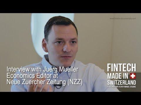 """""""FinTech Made In Switzerland"""": Interview Jürg Müller, Neue Zürcher Zeitung (NZZ)"""