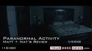PARANORMAL ACTIVITY: Most Terrifying Film Ever?