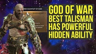 God of War Best Talisman HAS HIDDEN ABILITY - How To Unlock It (God of War Best Gear - God of War 4)