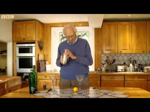 SIR GEORGE MARTIN SHOWS HOW TO PRODUCE A MARTINI DRY