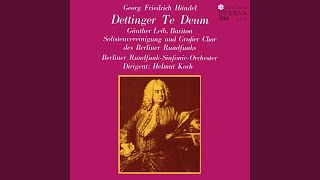 "Te Deum in D major, HWV 283, ""Dettingen"": Vouchsafe, O Lord, to keep us this day"
