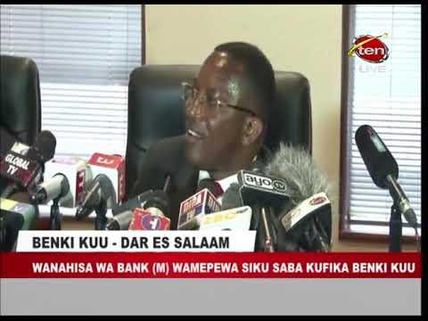 KUHUSU BANK M - WALIOKUWA WATEJA WA BENKI (M) WATAHUDUMIWA NA AZANIA BANK