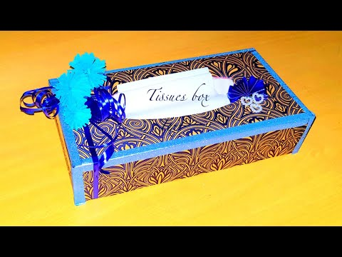 How to make a tissue box