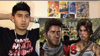 Nathan Drake vs Lara Croft | Keyblade | Épicas Batallas de ...