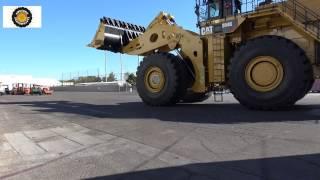 Convoy of massive heavy equipment