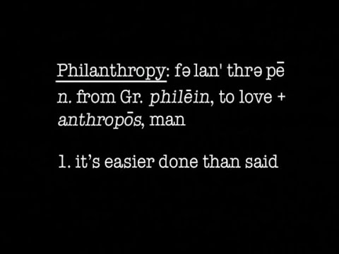 What Is Philanthropy