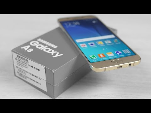 Samsung Galaxy A8 - Unboxing & Hands On!