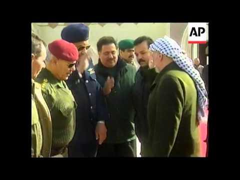 GAZA: ARAFAT TO DISCUSS PEACE PROCESS WITH MUBARAK