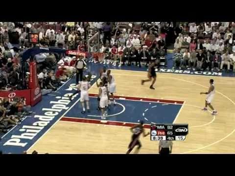 Miami Heat vs Philadelphia 76ers (97- 87) October 27, 2010