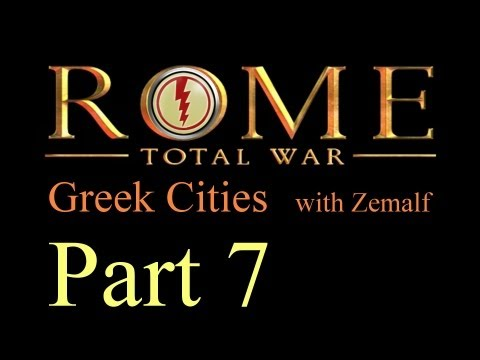 Let's Play Rome: Total War - Part 7 [Greek Cities, Short]
