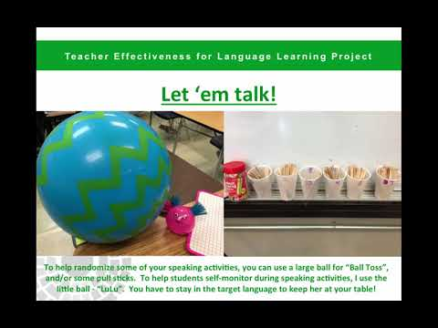 Engaging Language Learners - Teacher Presentation