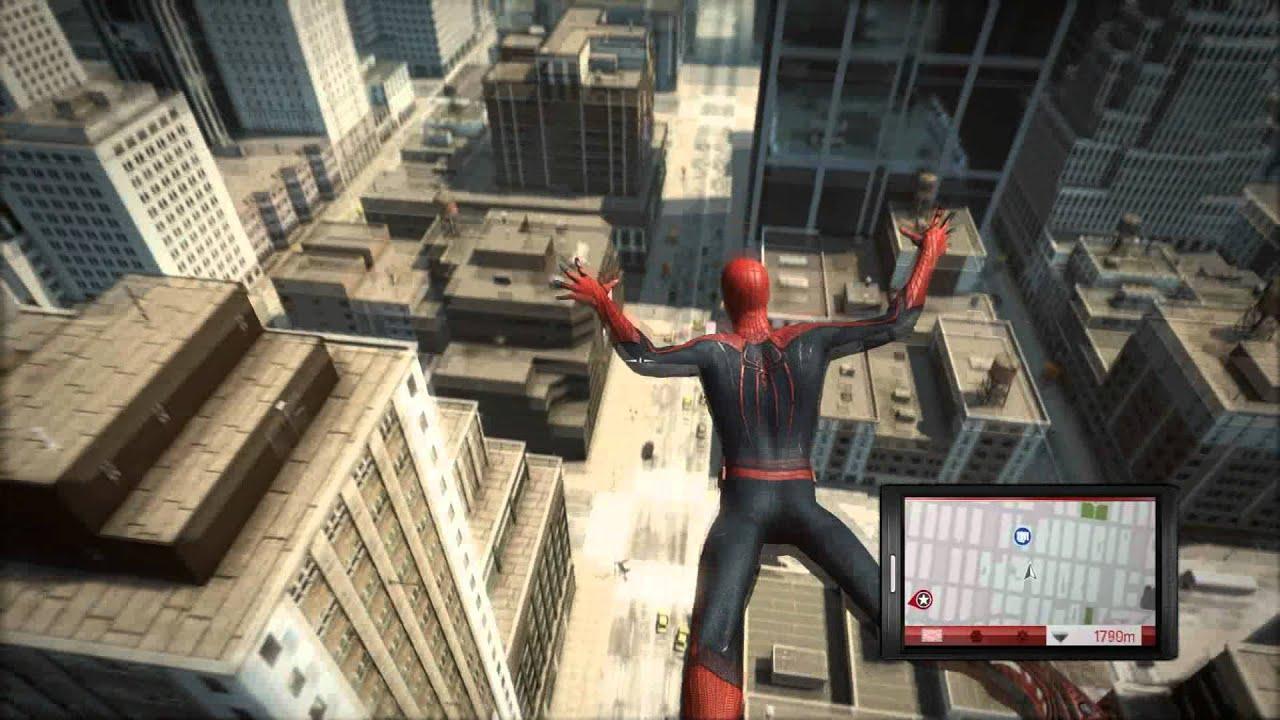 The Amazing Spider-Man GamePlay - YouTube