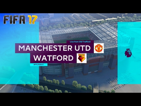 FIFA 17 - Manchester United vs. Watford @ Old Trafford