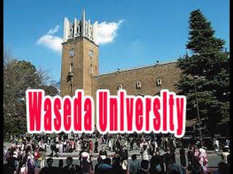 Waseda University a private university mainly located in Shinjuku, Tokyo, Japan.