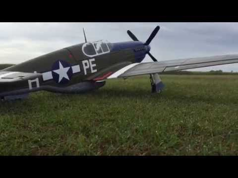 FMS P51B Mustang Dallas Darling 1450mm