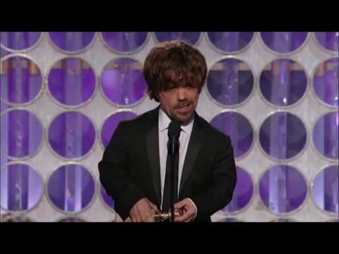 Peter Dinklage wins a Golden Globe for...