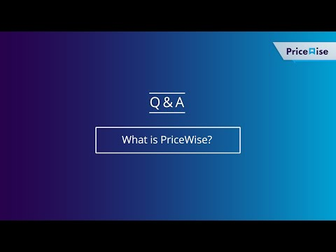 C&F | PriceWise | What is PriceWise?