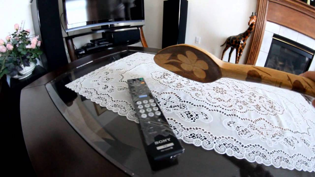 How To Turn Your TV on Using A Spoon
